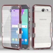 Fundas y carcasas transparente de color principal oro para teléfonos móviles y PDAs Samsung