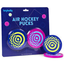 Two-Pack Vivid Air Hockey Pucks | Crazy Designed Pucks With Psychadelic Patterns