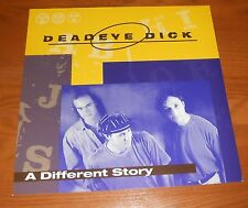 Dead Eye Dick A Different Story Poster 2-Sided Flat Square Promo 12x12 Rare