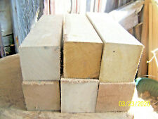 Sassafrass & Sycamore Turning Blocks Spindle Blanks Lathe 2 3/4 x 2 3/4 x 12