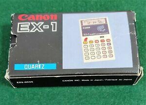 Rare Vintage Canon EX-1 Quartz Calculator Works well
