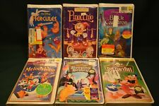 5 Walt Disney's Classic Movie Collection VHS   Masterpiece Sealed 1 goodtimes