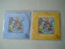 MANNEQUIN job lot of 2 promo CDs Nobody's Listening EP Shark Eyes