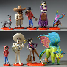 9 pcs Disney Coco Movie Action Figure set Toy Cake Topper Miguel Riveras Pepita