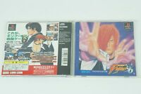 The King Of Fighters 96 PS1 SNK Sony Playstation 1 From Japan