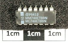 MM74HCT00N Quad 2 Entrada Nand National puerta DIL14