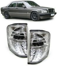 SET OF CRYSTAL CLEAR INDICATORS FOR THE MERCEDES 190E 190 W201 SALOON V2