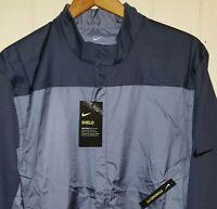 Nike Golf Jacket Mens XL NWT $90.00 Carbon Blue Grey