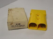 NEW CMC YELLOW CONNECTOR AN-203 350 AMP A 350A 600V AN203
