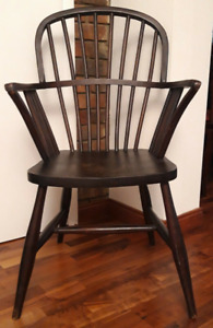 pair windsor chairs