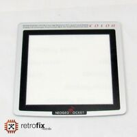 Neo Geo Pocket / NGP Color Replacement Platinum Silver Screen Lens - Perpsex