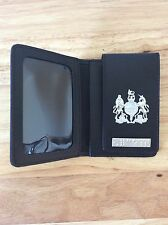 ID Card Wallet with generic Crest and authentic Enforcement Braille Bar
