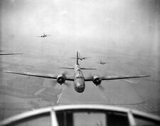 Photo. WW2. Wellington Bomber Planes in Flight