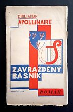 KAREL Teige Seppelliti mrkvicka Ceco modernist Avant-garde Book design Apollinaire