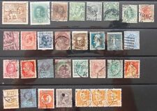 Perfin Lochung Selten Gelochte Briefmarken verschiedene Länder,