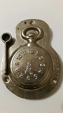 CLOCK WATCH UHR ANTON REICHE CHOCOLATE TIN PEWTER MOLD VINTAGE ANTIQUE
