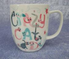 FINE BONE CHINA MUG - CRAZY CAT LADY - KITTY & POOCH COLLECTION CUTE - CAT - NIB