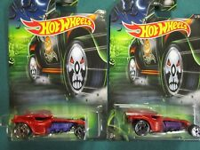 Hot Wheels 2017 HAPPY HALLOWEEN Ratical Racer (1 of 8) Lot of 2 exclusive cars