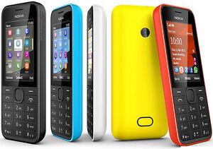 Nokia 208 2080 Single Dual SIM 1.3MP Camera 3G Bluetooth FM radio Original Phone