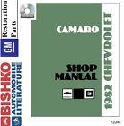 1982 Chevrolet Camaro Shop Service Repair Manual CD Engine Drivetrain Wiring OEM