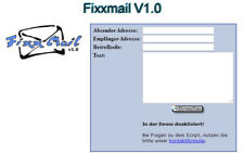 Fixxmail V1.0 - PHP-Script