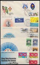 MALAYSIA 1974/5 FDC's (x5) (ID:643/D51848)