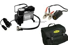 HEAVY DUTY FULL METAL 12V Electric Car Bike Air Compressor Pump Tire Inflator.