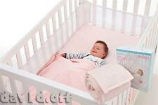 Sweet Dreams Breathing Space Infant Baby Air Pad Cot Bumper Mesh Protection Pink