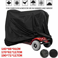 3 Sizes Mobility Scooter Wheelchair Waterproof Storage Rain UV Protector Cover