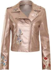 Cappotti e giacche da donna rosa da esterno con bottone