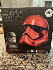 Star Wars The Black Series Galaxy's Edge Captain Cardinal Electronic Helmet