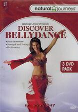 Discover Bellydance with Michelle Joyce [Bauchtanz] | 3-DVD-Set NEU