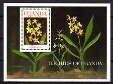 Uganda - 1989 Orchids - Scott 755MS MNH