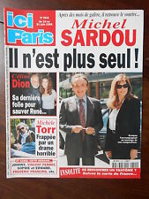 ►ICI PARIS 2815- SARDOU - INDRA - MICHELE TORR - FREDERIC FRANCOIS - CELINE DION