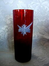 Collectible Vintage SMIRNOFF Ruby Red Tumbler - MORE AVAILABLE