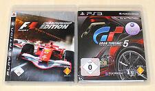 2 PLAYSTATION 3 giochi Set-f1 formula Championship Edition & gran turismo 5