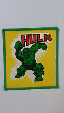The Incredible Hulk vintage patch Sew On logo movie comic
