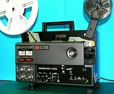 ELMO GS-1200  SUPER 8mm STEREO SOUND MOVIE PROJECTOR, SERVICED A1