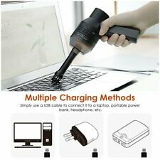 Portable Keyboard Vacuum Cleaner For PC Laptop Computer Brush Dust Cleaning Kit