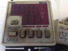 USED FUJI MC4F4-DE DIGITAL PRESET COUNTER, MC4F4   24 VDC FC