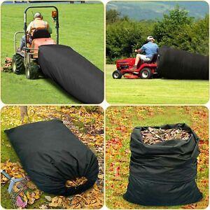 54Cubic Feet Lawn Tractor Leaf Bag Oxford Cloth Gardening Bag Mower Grass Bagger