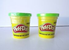 Green Play-Doh Modeling Clay, TWO 3 oz Cans (6 oz) Play Dough Compound * NEW *