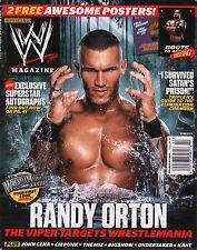 WWE Magazine February 2012  Randy Orton w/Poster EX 121015DBE