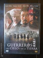 DVD GUERREROS DEL CIELO Y DE LA TIERRA - COMO NUEVA (4F)