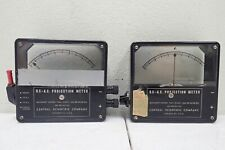 Lot of 2 Central Scientific Company 82550 Dc-Ac Projection Meters