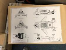 JOE 90 CAR A3 Blueprint Gerry Anderson