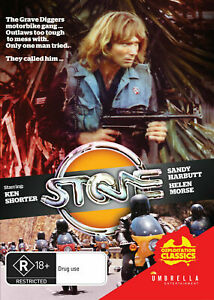 Stone (1974) (DVD) Ken Shorter Helen Morse [All Regions] NEW/SEALED