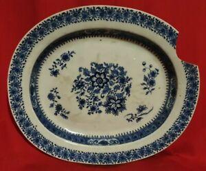 Grand plat en faience porcelaine de CHINE, XVIII ??? XIX ème ????