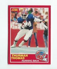1989 Score #211 Thurman Thomas RC Rookie Bills
