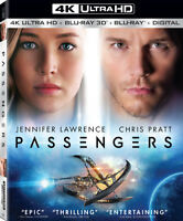 Passengers [New 4K UHD Blu-ray] With Blu-Ray, 4K Mastering, UV/HD Digi